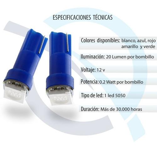 luces led bombillo muelita t5-02  (5 ud)