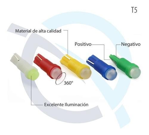 luces led bombillo muelita t5 ( 5 ud.)