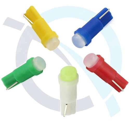 luces led bombillo muelita t5 (5 ud.)