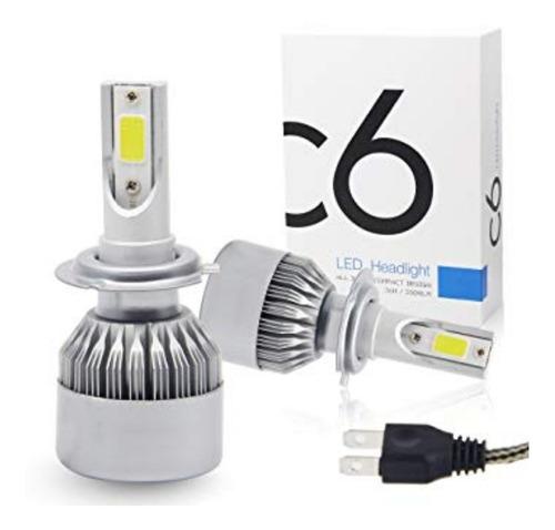 luces led c6 faros carro h1 h3 h7 9005 9006