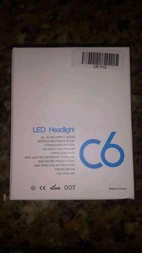 luces led c6 h1 h3 h4 h11 h13 9004 9005 9006 9007