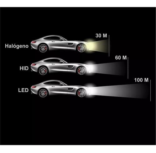 luces led c6 h1 h3 h4 h7 h11 h13 9005 9006 9007 50w 10000 lm