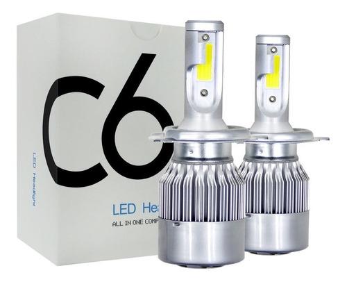 luces led c6 h11 72w 7600lum alta/ baja