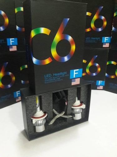 luces led c6 originales h1,h4,h7, totalmente nuevas