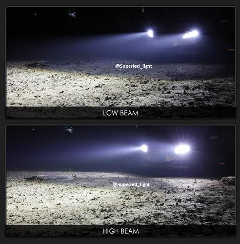 luces led carro y moto 72w/8000lm h1 h3 h7 h11 9005 9006 luz