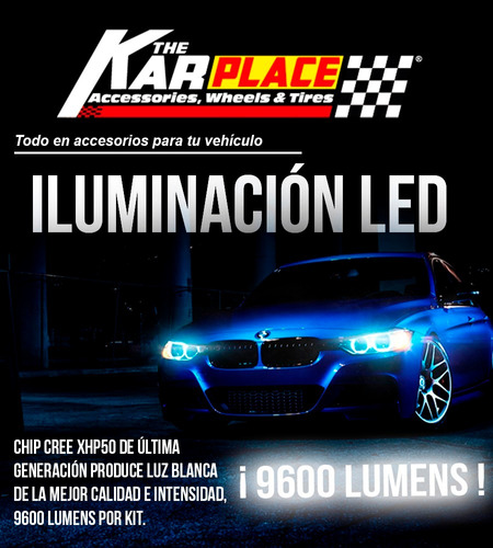 luces led carros 9600 lumens chip xhp h11 h7 h4 880 881 h3