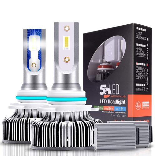 luces led carros luz 66w 9600lm 9005 / hb3  calidad 6500k