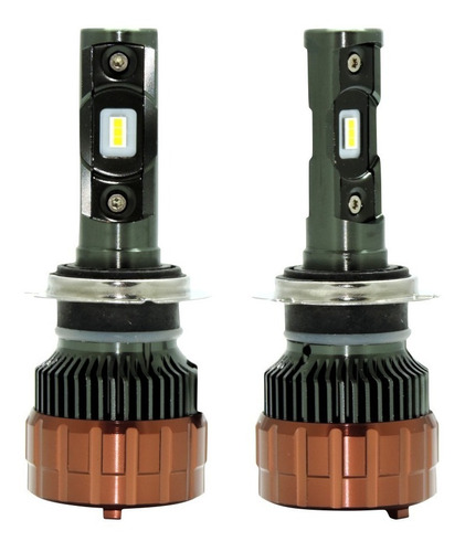luces led carros ollo 100w/10000lm h11 h7 9005 9006 canbus