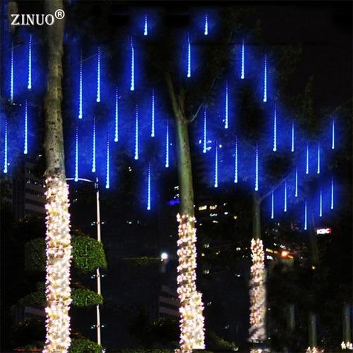 luces led cascada 8 tubos de 30cm decoracion arboles etc