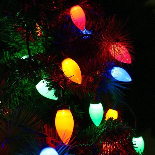 luces led colores decoracion de navidad fiesta marca hayata