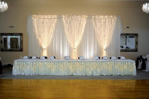 luces led cortina 5x3 mt decoración eventos precio de oferta