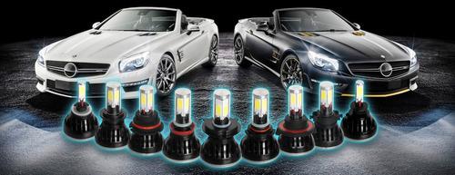 luces led cree 8000 lumines 6000 k  de 9 a 36 v  .instaladas