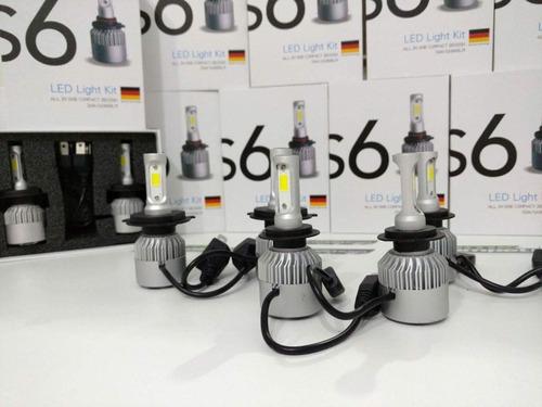 luces led cree s6 32000 lm 10ma gen h4 h1 h7 h11 h8 hb4 hb3