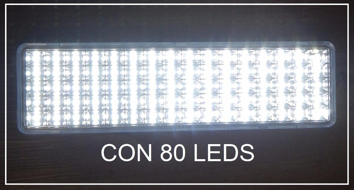 Luces led de emergencia homologadas por bomberos 80 leds - Precio luces de emergencia ...