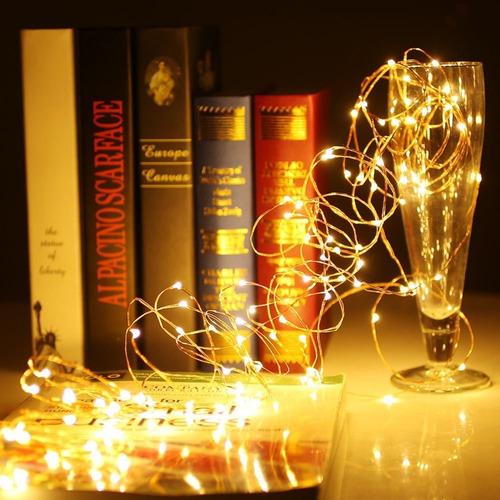luces led decorativas de 5mts ambar!!!