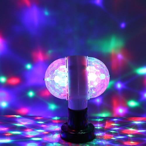 luces led efecto bola espejos doble novedad dj fiesta 10x10m