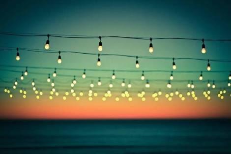 luces led en serie para jardín, vintage ,decoración oferta!