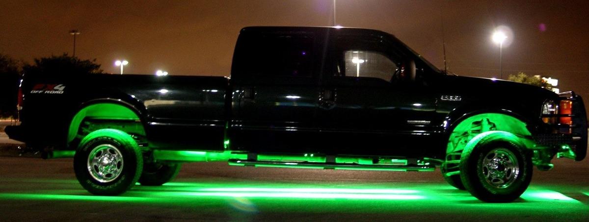 Luces led en tira para iluminar chasis del carro s 103 - Luces led en tiras ...