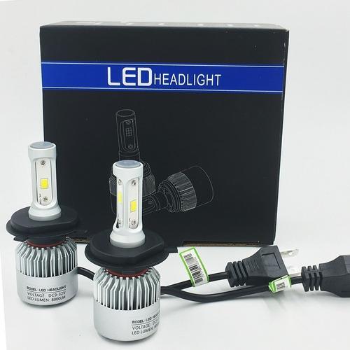 luces led  h4 h7 9005 9006 originales 8000 lumens  25 el par