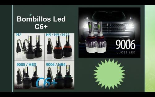 luces led h4- h7-h11- h13- 9005 y 9006