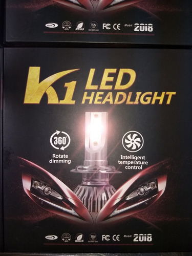 luces led h4 three color