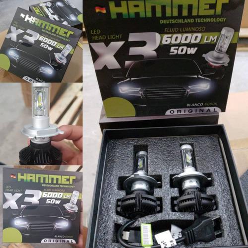 luces led hammer tecnologia alemana producto original