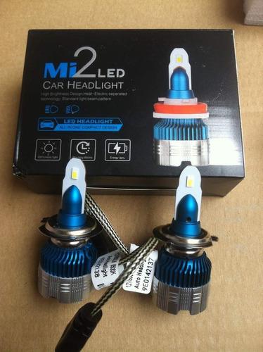 luces led headlight h7