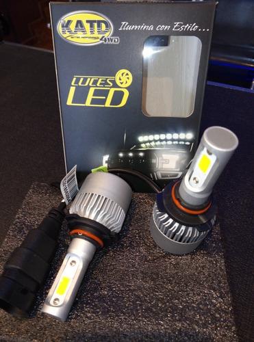 luces led katd h10, c/blanco, 40w, 8000 lm el par, 1 año gar