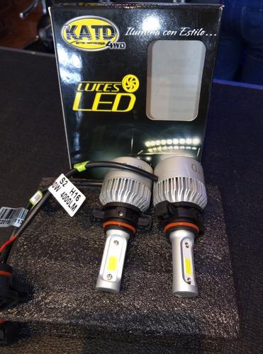 luces led katd, h11, color blanco, 40w,8000 lm, garantía 1 a