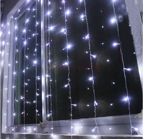 luces led luminos cortina 3 x 2 para decoracion