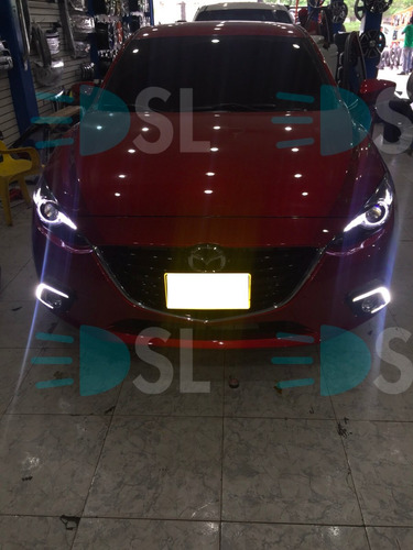 luces led mazda 3 skyactiv  exploradora drl special lighting
