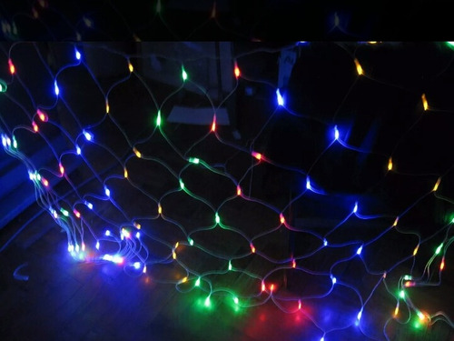 luces led navidad 320 focos tipo malla red 3m x 2m
