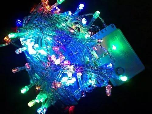 luces led navidad lineal x 100 focos 7 metros s/ adornos