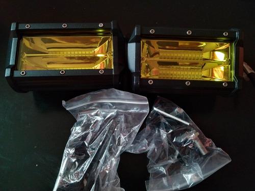 luces led nilight de 5.0 in, 72w doble fila, 10800 lumenes,
