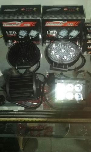 luces led o barras 6 led cuadradas