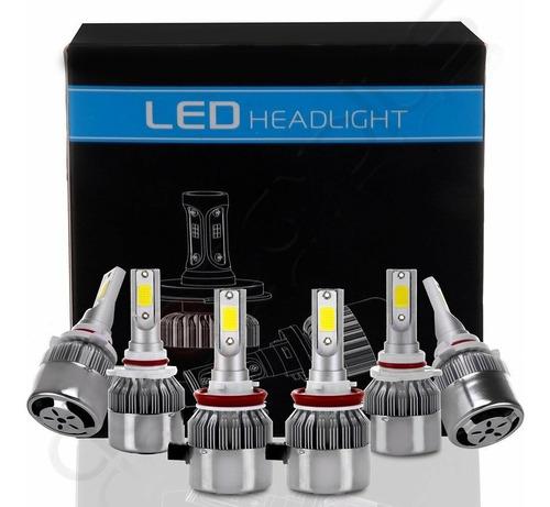 luces led originales h11 9005 9006 carro precio por unidad