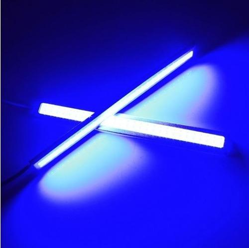 luces led par barras halogeno luz azul
