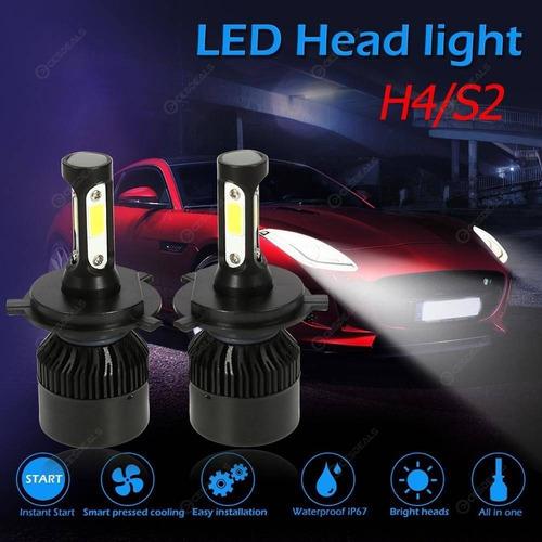 luces led para carro y moto 72w/8000lm mucho mejor que c6
