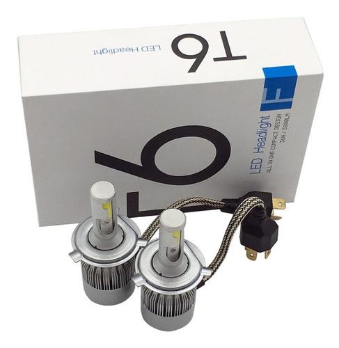 luces led para carros c6  h4-h7-h3-h1-9004-9005-9006-9007