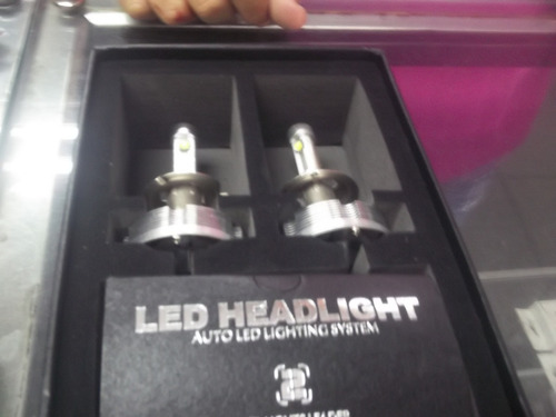 luces led para carros fijas y de 2 pases h4 yh7