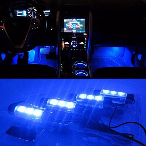 luces led para carros interior