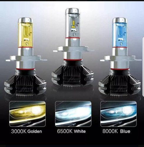 luces led para carros x3 super brillante alta profundidad