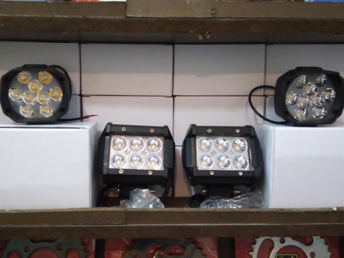 luces led para carros y motos de 18w resistentes al agua