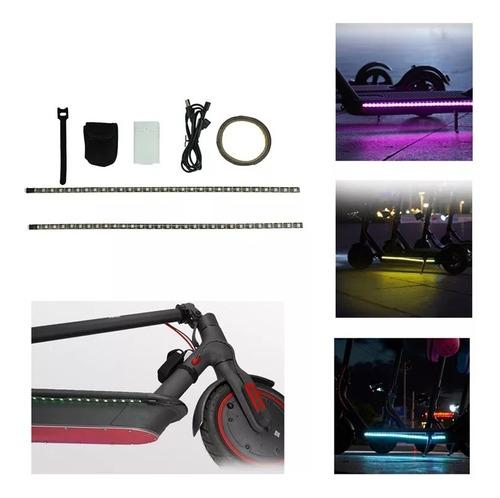 luces led para scooter eléctrico compatible varios xiaomi