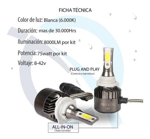 luces led para vehículos y motos: h1 h3 h7 h11 880 9005 9006