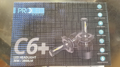 luces led  proled c6+