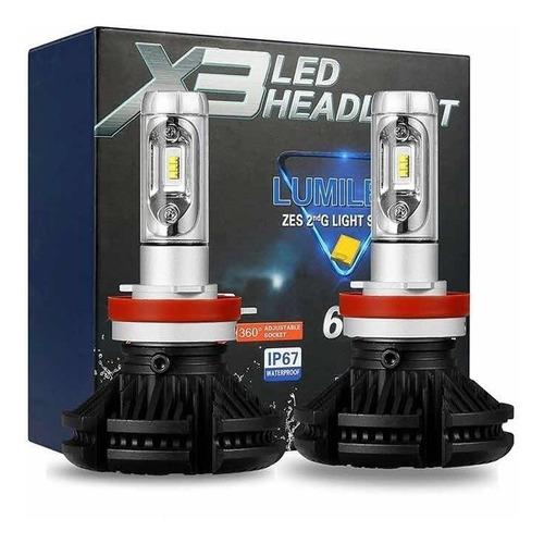luces led x3 50w / 6000 lm h4 (el par) somos tienda carro