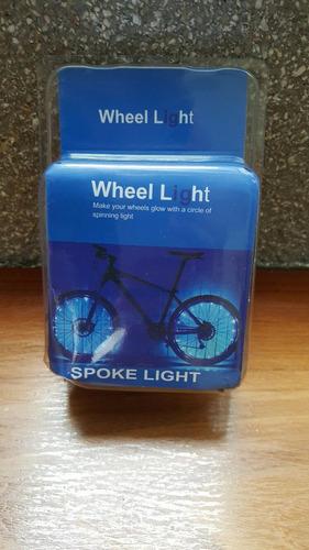 luces leds para rines de bicicletas 1 paquete=1 rueda