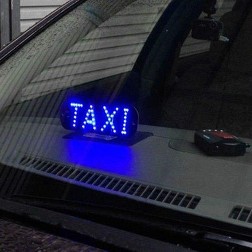 luces letrero leds para taxis