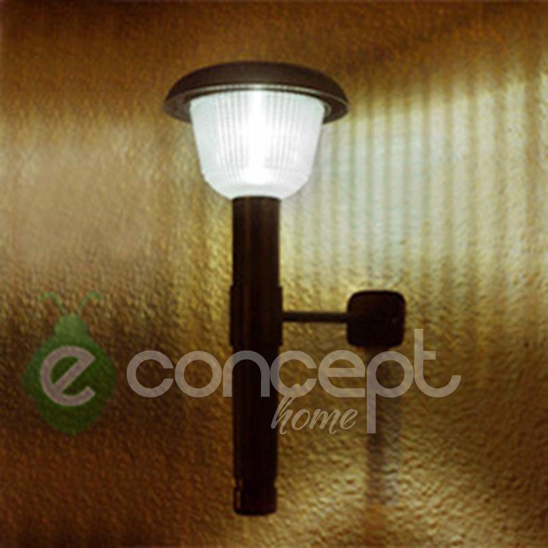Faroles solares para jardin beautiful calificacin sin calificacin lampara farol luz led con - Antorchas solares para jardin ...